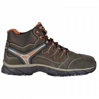 """Cofra JV017-000.W46 Size 46 S3 SRC """"New Bronx"""" Safety Shoes - Brown"""