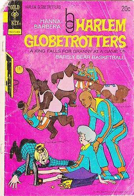 Harlem Globetrotters #9 / Gold Key Comics / 1974
