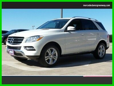 2013 Mercedes-Benz M-Class ML 350 2013 ML 350 Used Certified 3.5L V6 24V Automatic All Wheel Drive SUV Premium