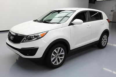 2016 Kia Sportage LX Sport Utility 4-Door 2016 KIA SPORTAGE LX BLUETOOTH ALLOY WHEELS 49K MILES #838389 Texas Direct Auto