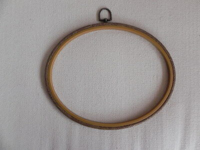 Oval Embroidery Hoop Frame