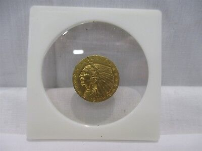 1911 $2-1/2 United States Of America Indian Head Quarter Eagle Gold Coin G$2.50