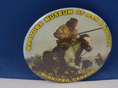 Museum Of Man & Nature Winnipeg Canada Pin Souvenir Travel Collector