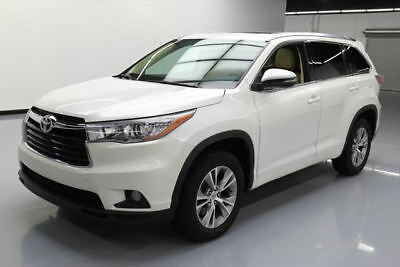 2015 Toyota Highlander  2015 TOYOTA HIGHLANDER XLE HTD SEATS SUNROOF NAV 30K MI #047702 Texas Direct