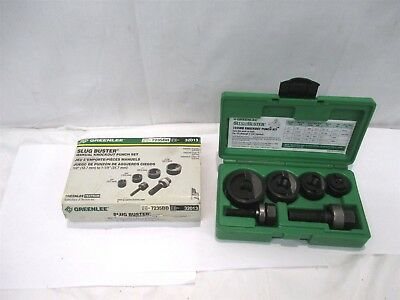 """GREENLEE 7235BB SLUGBUSTER Knockout Punch Kit For 1/2"""" - 1-1/4"""" Conduit"""