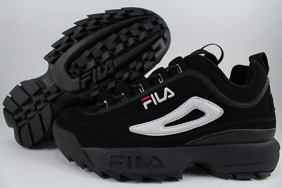 Fila Disruptor Ii 2 Black/White/Red Cross-Training Trainer Authentic Us Men Size