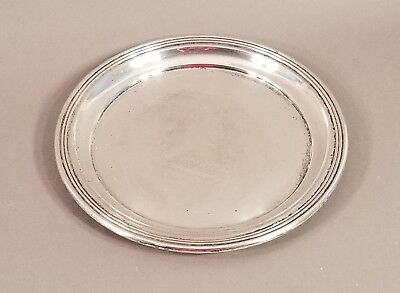 Antique Vintage International Sterling Silver Lord Saybrook Tray 1970 9.3 Ounces