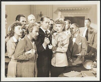 Lucille Ball Franchot Tone Original 1940s Photo Her Husband's Affairs Telephone