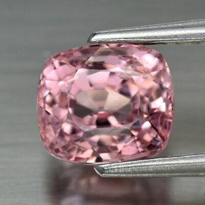 1.34ct 6x5.3mm Cushion Natural Pink Spinel, M'GOK