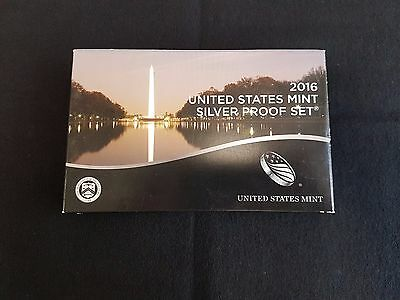 2016-s U.S. SILVER 13 coin Proof Set.  Original as minted by U.S. Mint