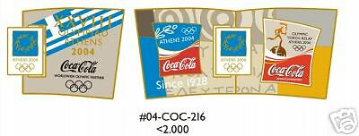 Athens 2004 Coca Cola Moving Athens 2004 Olympic Moving Pin