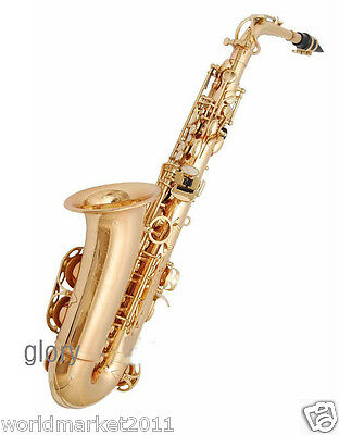 #12 Profession Musical Instruments Brass Hand Polished Compact Alto Saxophone