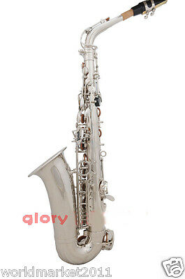#11 Profession Musical Instruments Brass Hand Polished Compact Alto Saxophone