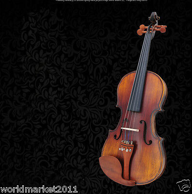 #7 Solid Wood Handmade 4/4 Size Professional Musical Instruments Violin