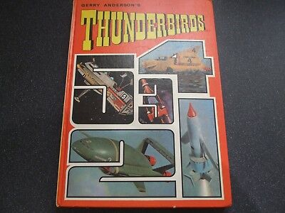 GERRY ANDERSON'S  THUNDERBIED book 1968 annual  un-clipped