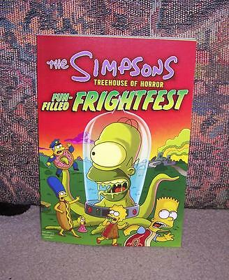 THE SIMPSONS TREEHOUSE OF HORROR FUN-FILLED FRIGHTFEST by MATT GROENING ~ NEW