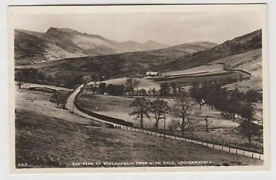 Stucachroin from Glen Ogle, Lochearnhead:~1930's (Est) Real Photo PPC, VG Unused