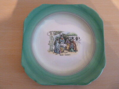Shelley Welsh Ladies Series Cake Plate