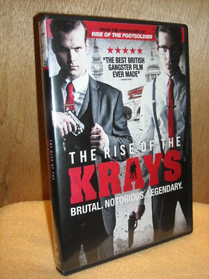The Rise of the Krays (DVD, 2016) Matt Vael Simon Cotton Kevin Leslie