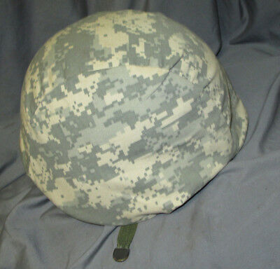 US Army Kevlar Helmet PASGT With Digital Camo Cover Size XS-2 Devils Lake