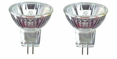 Interpet Daylight Halogen Lamps x2 (10 watt 12v) Tropical / Coldwater Spot Bulbs