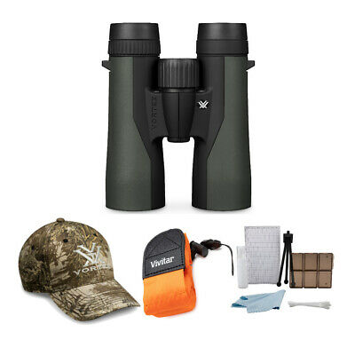 Vortex 10x42mm Crossfire Binocular with Foam Strap and Cleaning and Care Ki