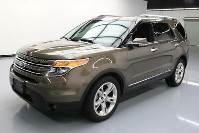 2015 Ford Explorer Limited Sport Utility 4-Door 2015 FORD EXPLORER LTD LEATHER PANO REAR CAM 20'S 40K #B82833 Texas Direct Auto