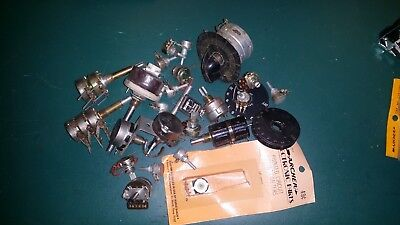 Lot of Vintage Potentiometers