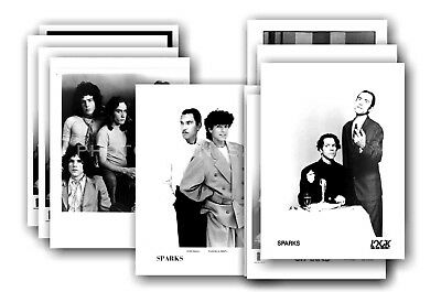 SPARKS - 10 promotional posters  collectable postcard set # 7