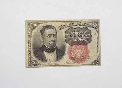 BARGAIN US Fractional Currency 10-Cent Note 5th Issue 1874-76 VERY FINE