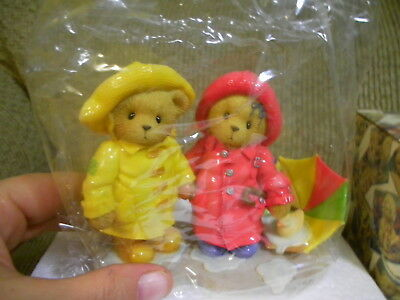 """Cherished Teddies Joey And Lindsey """"we Can Weather Any Storm Together"""""""