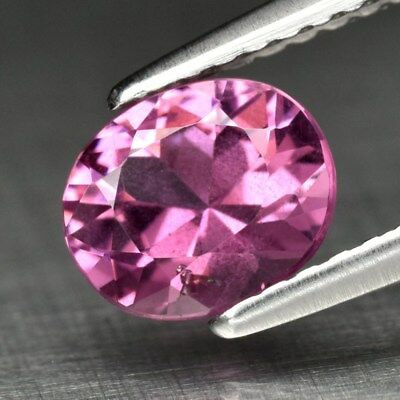 1.01ct 6.7x5.8mm Oval Brilliant Natural Pink Spinel, M'GOK