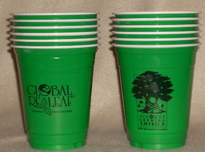 Mcdonald's 1991 Let's Get Growing America Recycle Cups Set Of 12