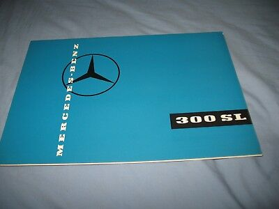 Mercedes-Benz 300SL roadster ORIGINAL brochure ExP 1072e 1159 circa 1959