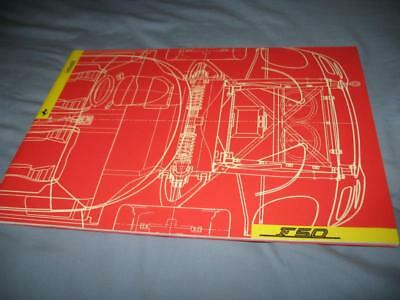 Ferrari F50 press kit brochure with slides 945/95