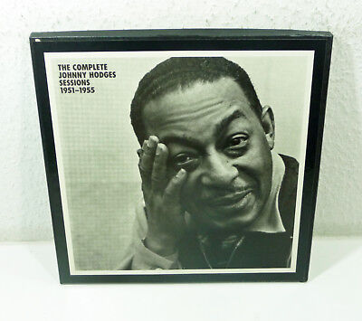 JOHNNY HODGES - 1989 MOSAIC 6-LP Box limited numbered Complete Sessions 1951-55