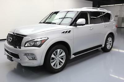 2017 Infiniti QX80  2017 INFINITI QX80 AWD 7-PASS SUNROOF NAV 360 CAM 32K #154515 Texas Direct Auto
