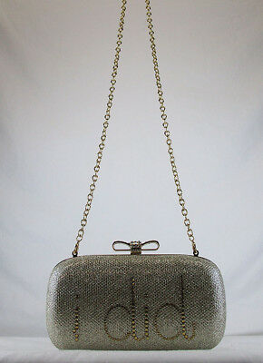 e8adf9ef3d3 INC INTERNATIONAL CONCEPTS EVIE I DO I DID Gold Clutch Shoulder Bag Msrp  $80.00