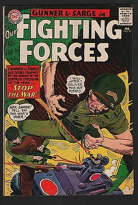 Our Fighting Forces #90 VG+ 4.5 Off White Pages