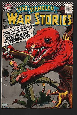 Star Spangled War Stories #132 VG- 3.5 Cream Pages DINOSAUR COVER