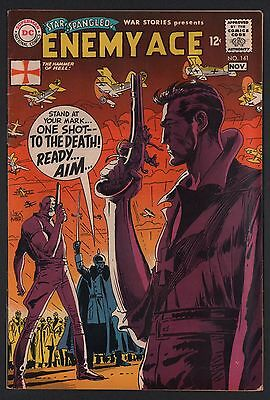 Star Spangled War Stories #141 VG 4.0 Cream to Off White Pages