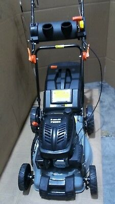 "Lawn Mower Self Propelled 18"" 165cc 4 Stroke Baumr-AG Lawnmower Grass Catch"