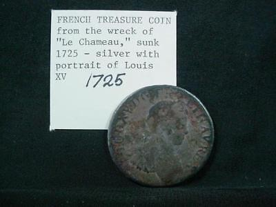 NobleSpirit NO RESERVE {3970}1725 French Treasure Coin from Le Chameau Shipwreck