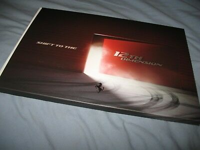 Ferrari 812 Superfast hardcover brochure with slipcover 5851/17