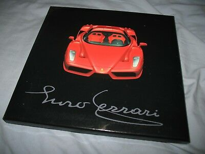Ferrari Enzo Ferrari embargo press kit with padded box and 1831/02 brochure RARE