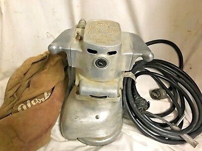 Clarke BE-7 Floor Edger Sander With Power Cable and Vacuum Bag