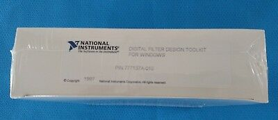 National Instruments Digital Filter Design Toolkit for Windows Year 1997