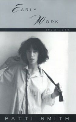 Early Work 1970-1979: Patti Smith (Paperback), 9780859652209