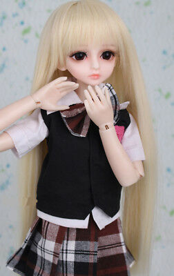 A10 1/4 Girl Super Dollfie Normal Skin Coordinate Model Fullset BJD Doll O
