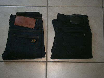 Boy's Jeans (X2) Simple & Raw Superdry Size 30 Excellent Condition FREE POSTAGE